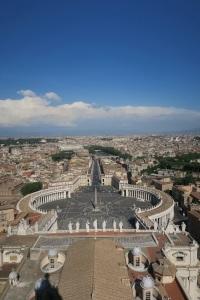 San Pietro Meydanı, Bazilika Manzarası.