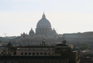 Castel Sant'Angelo Terası Manzaralarından birisi